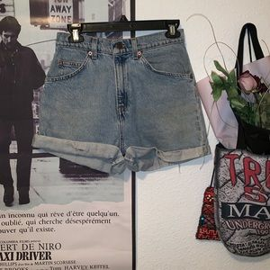 Vintage 1970s Levi's high waisted shorts